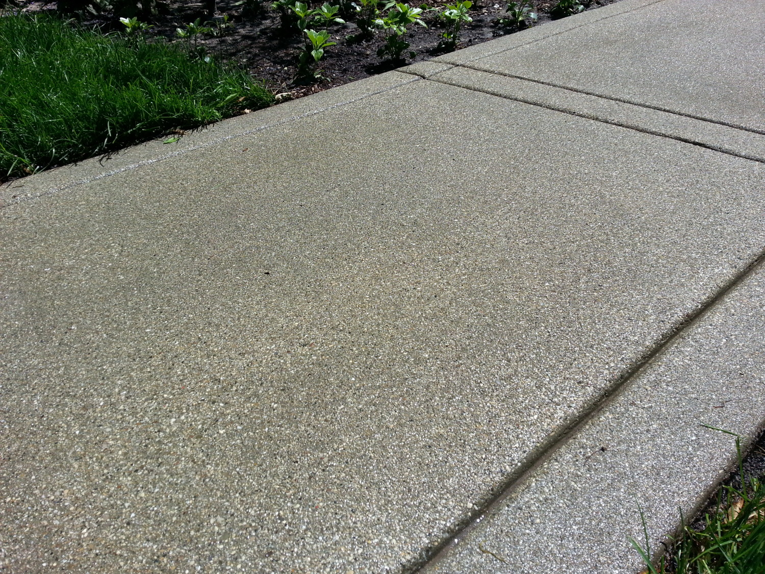 Lakeside Antique Concrete Walk North Shore Aggregate